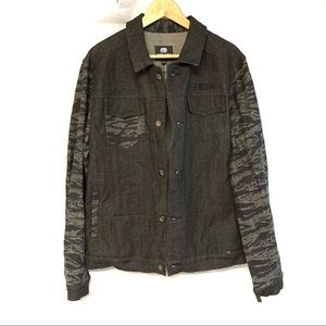 Ecko Unltd Manny G Denim Signature Jacket black L